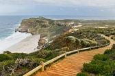 Path with beautiful sea view — Stock Photo