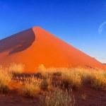 Sunset dunes in Namibia — Stock Photo