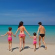 Family beach vacation — Stock Photo #26968111