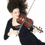 violoniste femme jeu de violon — Photo