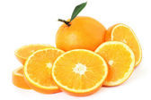 Orange fruit slice — Stock Photo