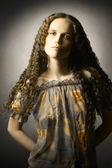 Young pretty woman fashion portrait — Stock Photo