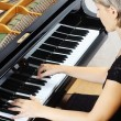 Piano playing pianist player. — Stock Photo #21705867
