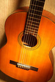Acoustic guitar classical guitar — Стоковое фото