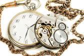старые антикварные часы — Стоковое фото