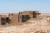 Desert luxury resort hotel Israel — Stock Photo