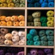 Royalty-Free Stock Photo: Selection of yarn wool