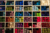 Selection of yarn wool — Stock Photo