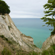 The White Cliffs of Moen in Denmark — Stock Photo