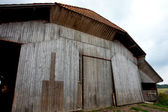 Ancienne grange en bois — Photo