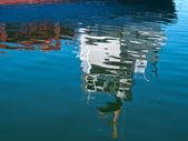 Arka plan mavi su ripples — Stok fotoğraf