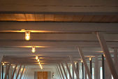 Rustic country style ceiling — Stock fotografie