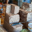 Halva in a market stand — Stock Photo