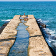 Stock Photo: Old pier dock jetty