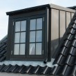 Modern vertical roof window - Photo
