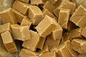 Caramel fundge candy — Stock Photo