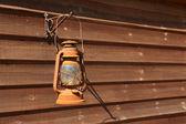 Klasyczna zardzewiały kaganek — Zdjęcie stockowe