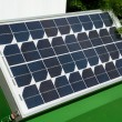 Stock Photo: Solar panel for green, environmentally friendly energy