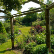 Photo: Pergolgazebo in beautiful garden