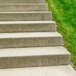 Stone stairs in a garden garden — Stock Photo #37211421