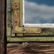 Old grunged wooden window — Stock Photo #37564991