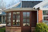 Modern conservatory — Stock Photo