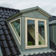 Stock Photo: Modern vertical roof windows