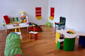 Modern play children's room — 图库照片