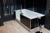 Beautiful Large Bathroom in Luxury New Home — Stock Photo