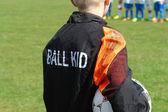 Football soccer ball kid — Foto de Stock