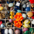 An assortment of vintage buttons — Stock Photo #47433125