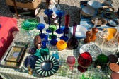 Knick Knack at a flea market — Stock Photo