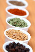 Spices in pots — Stock Photo