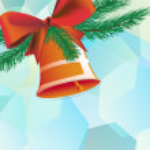 Christmas bell — Stock Vector