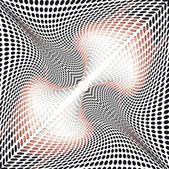 Fractal background circles 17 — Stock Vector