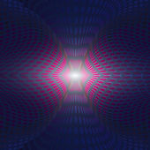Geometric blue light circles — Stock Photo