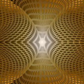 золотое сияние кольца — Cтоковый вектор
