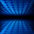 Abstract business background blue energy — Stock Photo