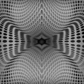 Tasarım soyut siyah halkalar beyaz zemin üzerinde vektör — Stok Vektör