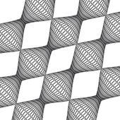 Vector textures retro geometric fractal — Stock Vector