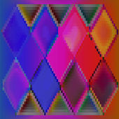 Background abstract colorful cubes — Stockvector