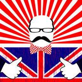 Vector dia britânico — Vetorial Stock