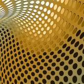 Gold design abstract vector — Stock Vector