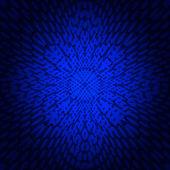 Abstracto fractal azul fondo — Vector de stock