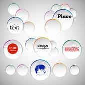 иллюстрации для вашего бизнеса — Cтоковый вектор