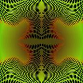 Bakgrunden abstrakt grön — Stockvektor