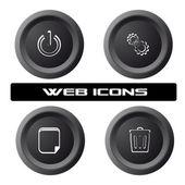 PC icons — Stock Photo