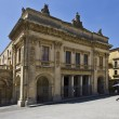 Municipal Theater Vittorio Emanuele - Noto — Stock Photo