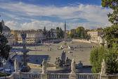 Piazza del Popolo — ストック写真