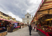 Christmas Market in Florence — Stock Photo